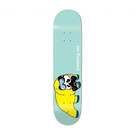 """Enjoi Skateboards Breaking Rad R7 8.25"""" Deck - Pastel Green"""