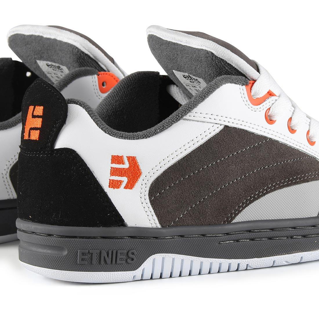 Etnies Czar Shoes - Grey White Orange