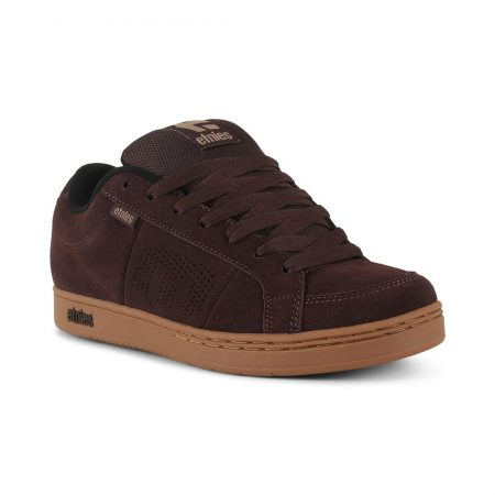 Etnies Kingpin Shoes - Brown / Black / Gum