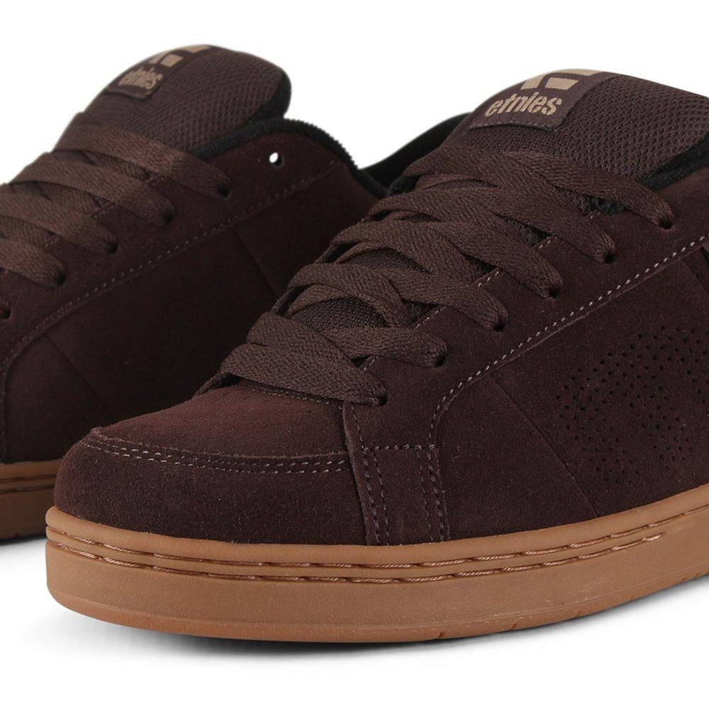Etnies Kingpin Shoes - Brown / Black / Gum