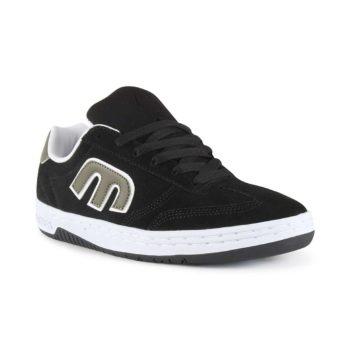 Etnies Lo-Cut Shoes - Black / Green / White