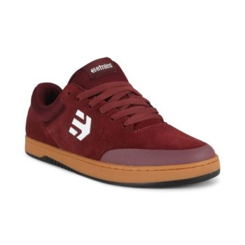 Etnies Marana Michelin Shoes - Burgundy / Tan / White