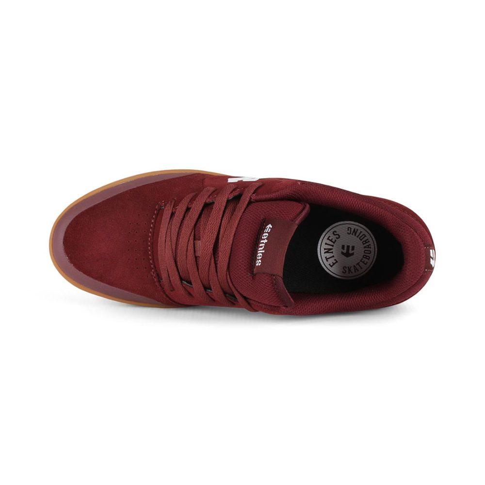 Etnies Marana Michelin Shoes - Burgundy / Tan / White