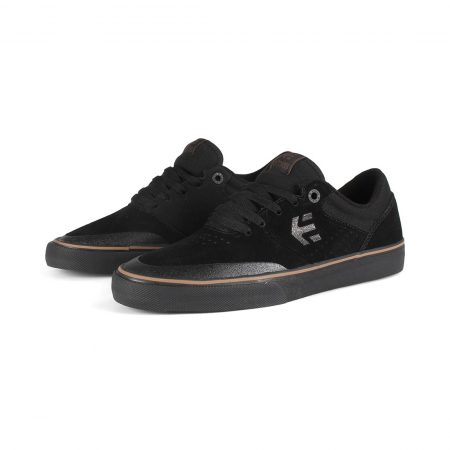 Etnies Marana Vulc Shoes - Black / Dark Grey / Gum