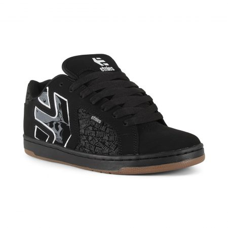 Etnies Metal Mulisha Fader 2 Shoes - Black / Grey / White