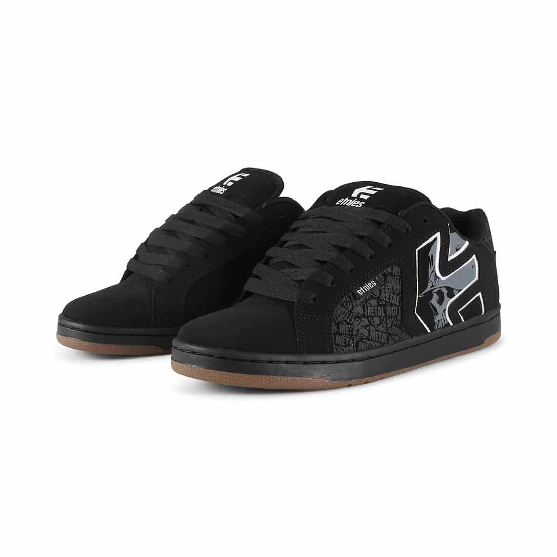 e26e998fd1b Etnies Metal Mulisha Fader 2 Shoes - Black   Grey   White