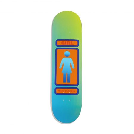 "Girl Skateboards Mike Carroll 93 Til W35 - 8.375"" Deck"