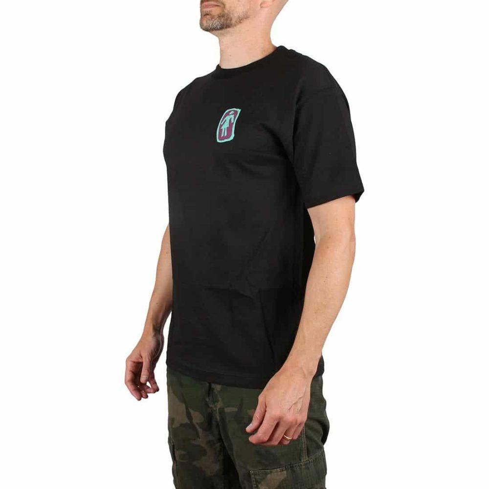 Girl Skateboards Sketchy OG S/S T-Shirt - Black