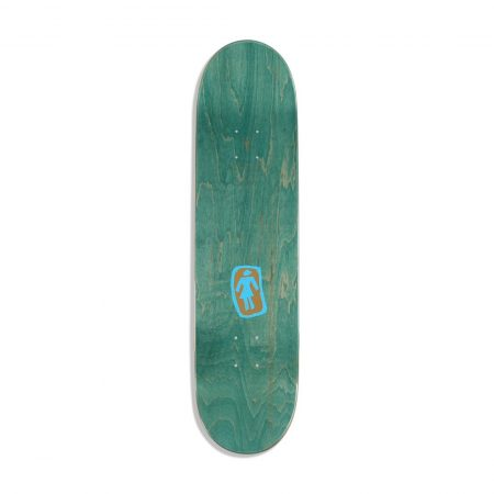 "Girl Skateboards Walk Of Fame Rick McCrank 8.125"" Deck"