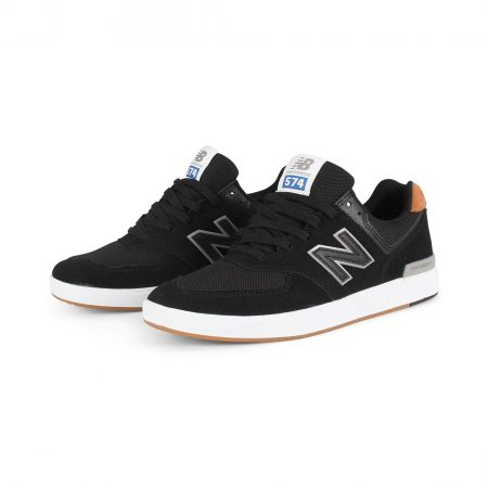 New Balance All Coasts 574 Shoes - Black / Brown