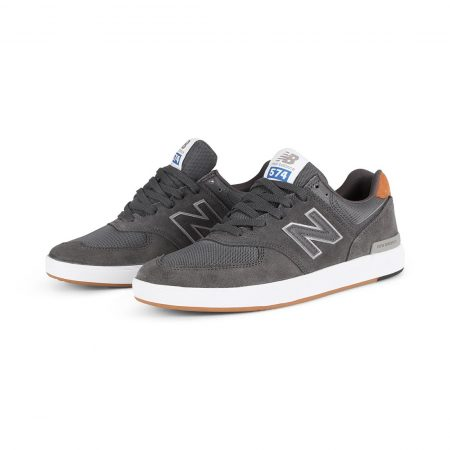 New Balance All Coasts 574 Shoes - Grey / Brown