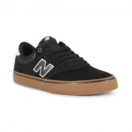 New Balance Numeric 255 Shoes - Black / Gum