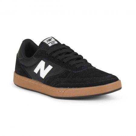 New Balance Numeric 440 Shoes - Black / Gum