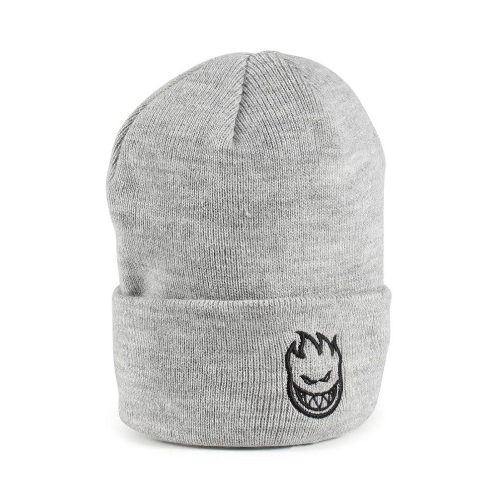 ecde507962419 Spitfire Bighead Standard Cuff Beanie Hat - Heather Grey   Black