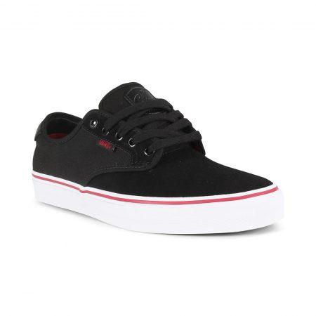 Vans Chima Ferguson Pro Skate Shoes - Black / White / Chili Pepper