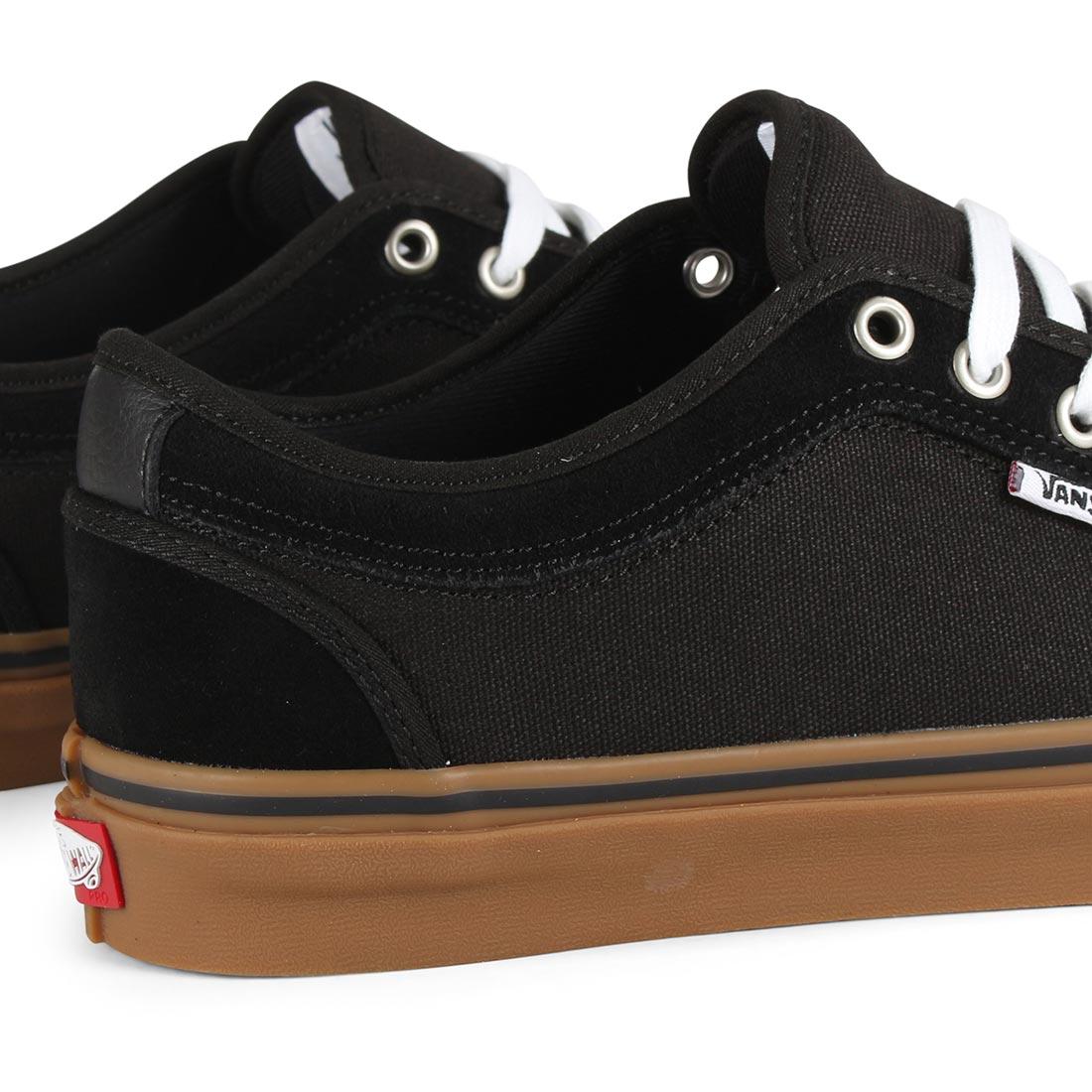 c4fa4f1948 Vans Chukka Low Pro Skate Shoes - Black   Black   Gum