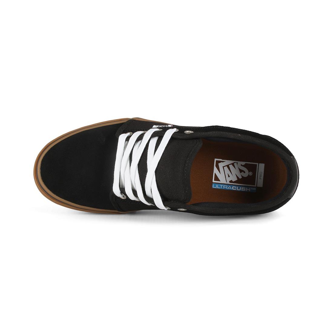 Vans Chukka Low Pro Skate Shoes - Black   Black   Gum 17b17ccc0