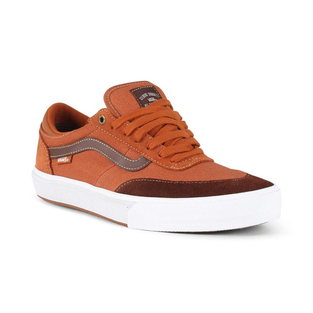 f11c88d0cd97cc Vans Gilbert Crockett 2 Pro Shoes - Leather Brown   Potting Soil