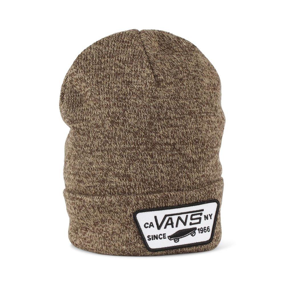 e2bfaf902b7a3 Vans Milford Cuff Beanie Hat - Demitasse   Khaki