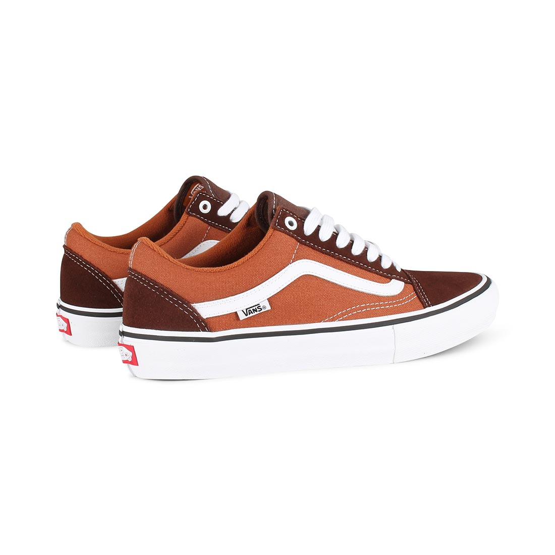 e847621473bb Vans Old Skool Pro Skate Shoes - Potting Soil   Brown