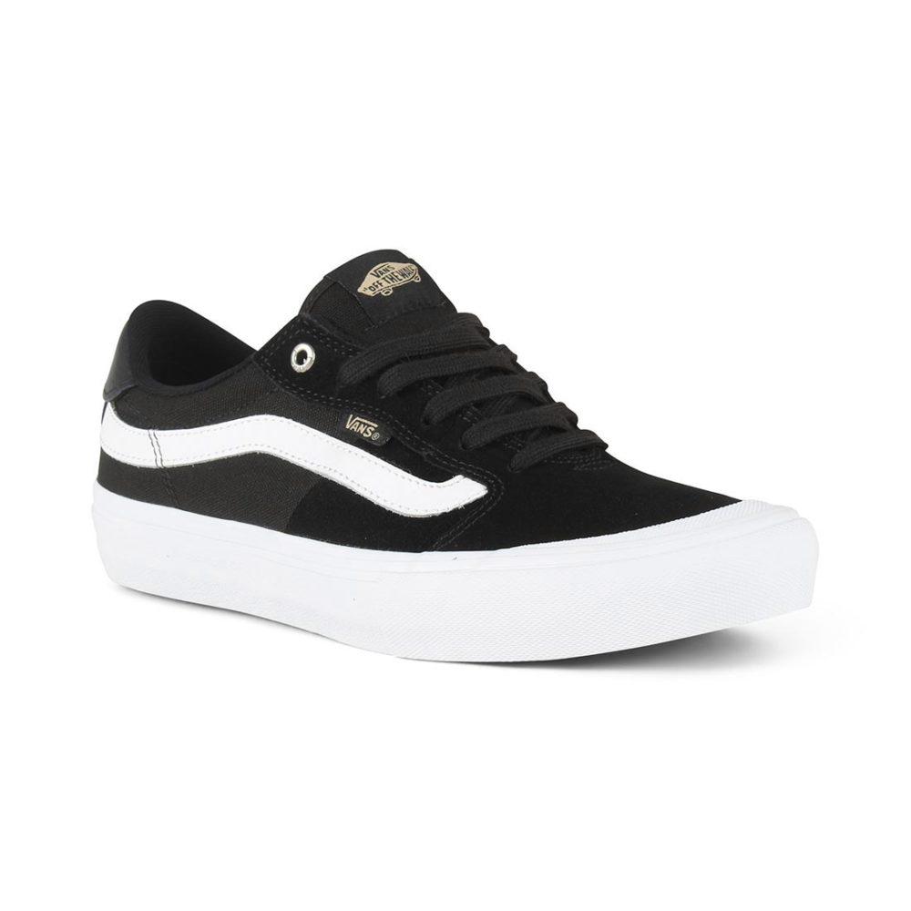 c4f7ab79fc70 Vans Style 112 Pro Skate Shoes - Black   White   Khaki