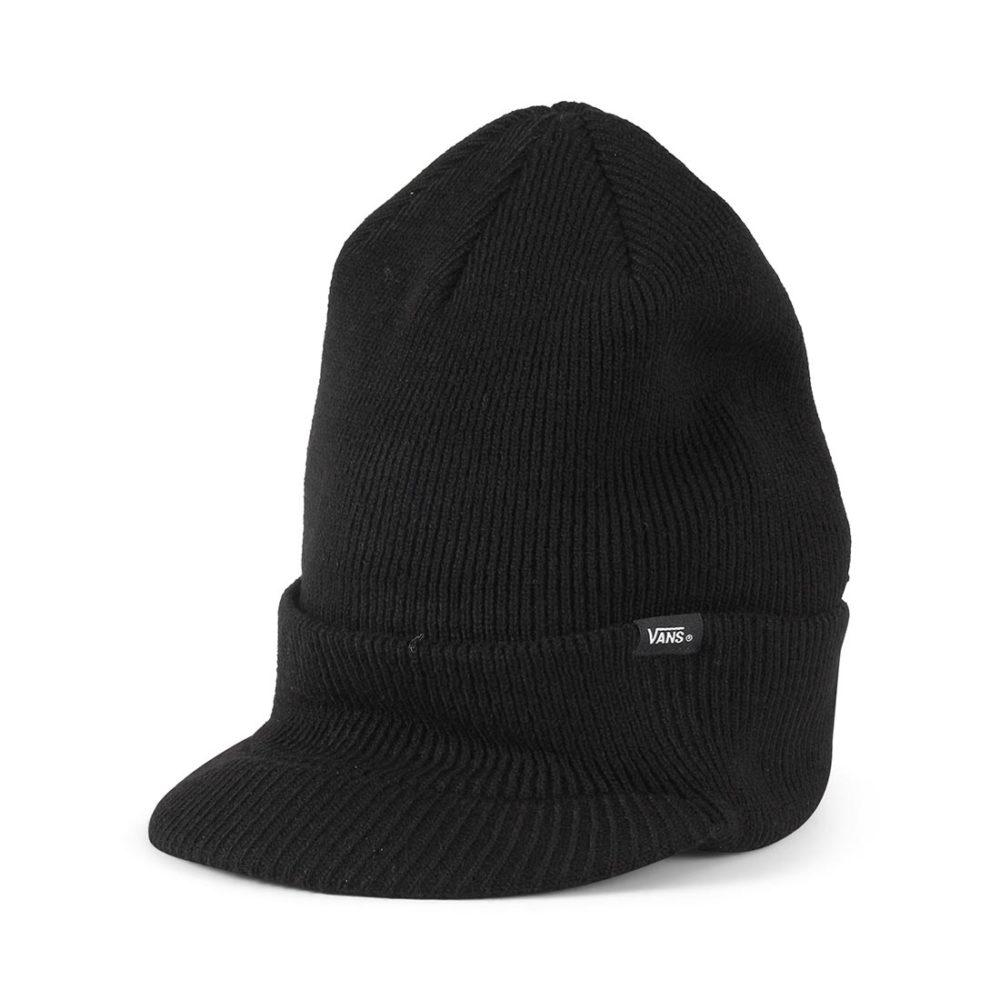 bf58636a81e7d3 Vans-Visor-Cuff-Beanie-Hat-Black-01