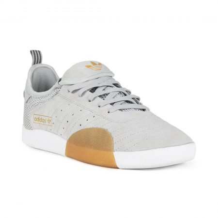 Adidas 3ST.003 Shoes - Clear Onix / Grey Five / White