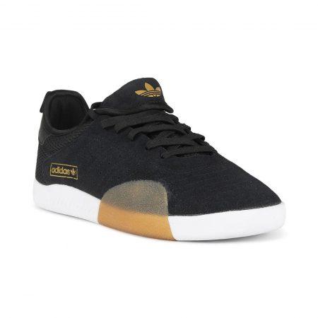 Adidas 3ST.001 Shoes Black White Gum