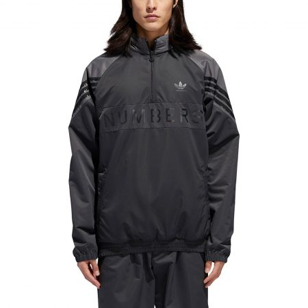 Adidas x Numbers Track Jacket - Black / Grey Five / Carbon