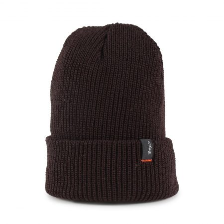 Brixton Heist Beanie Hat - Dark Brown