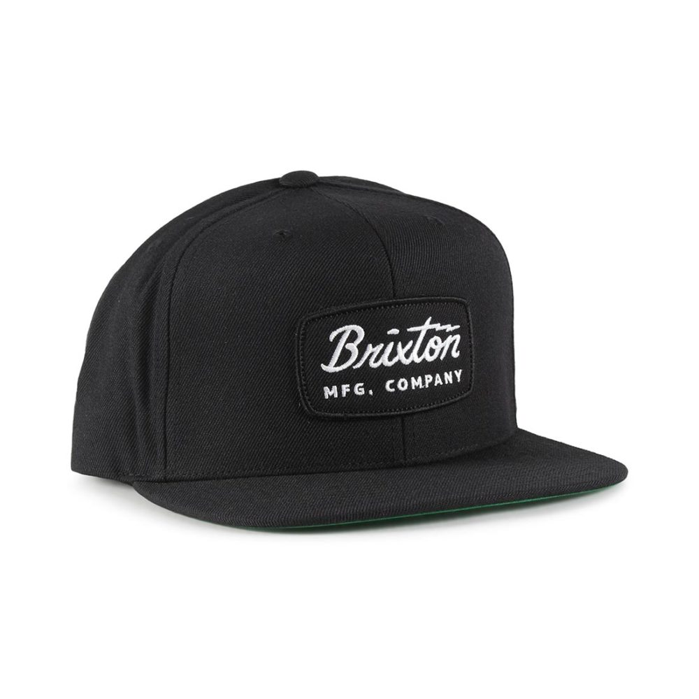 8a8ccc44be Brixton Jolt Snapback Cap - Black / Black / White