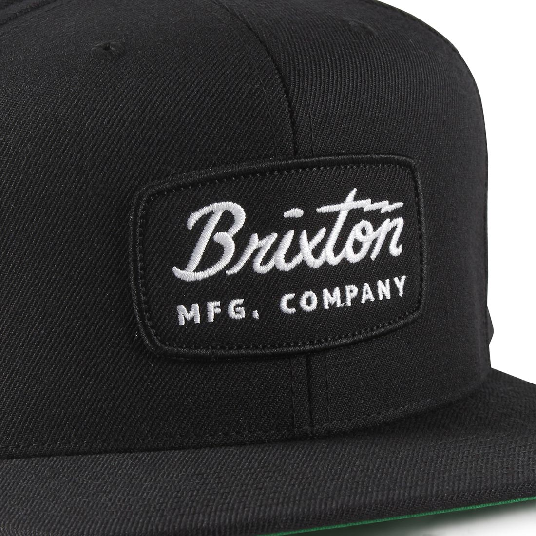 11f9aa73043 Brixton Jolt Snapback Cap - Black   Black   White