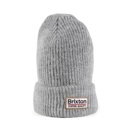 Brixton Palmer II Beanie Hat - Light Heather Grey