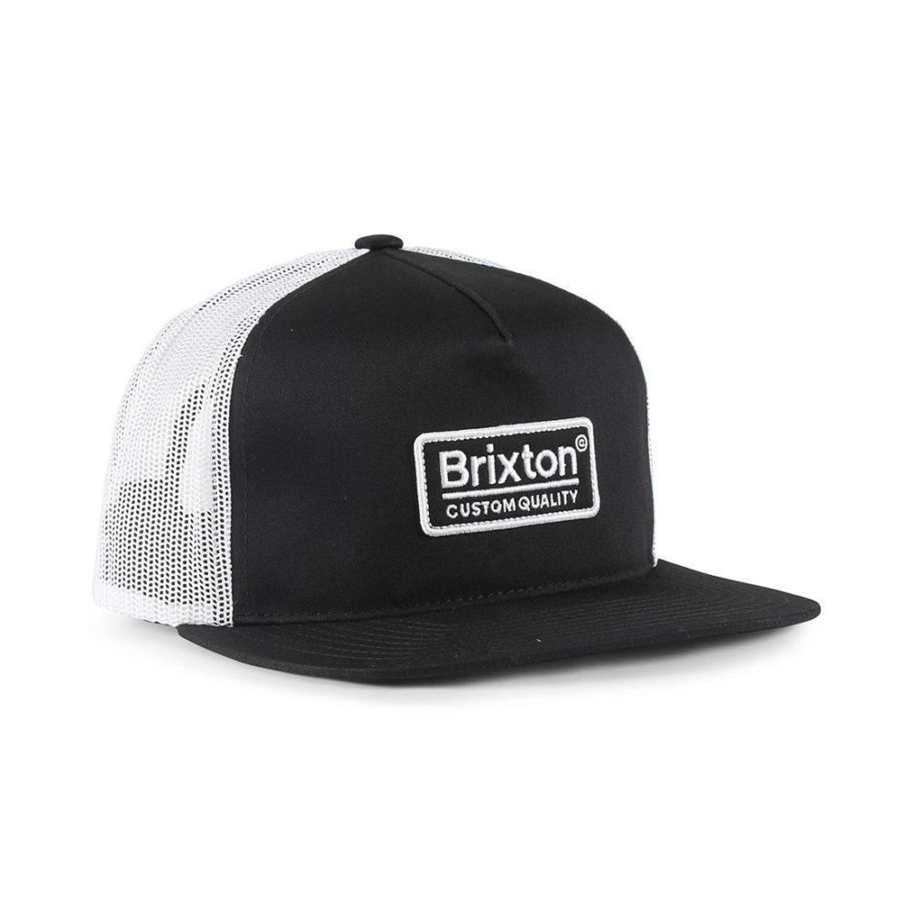 64e7f147 Brixton Palmer Mesh Back Cap – Black / White