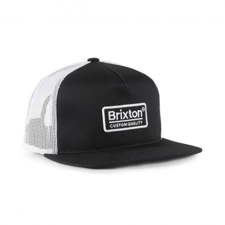 Brixton Palmer Mesh Back Cap Black