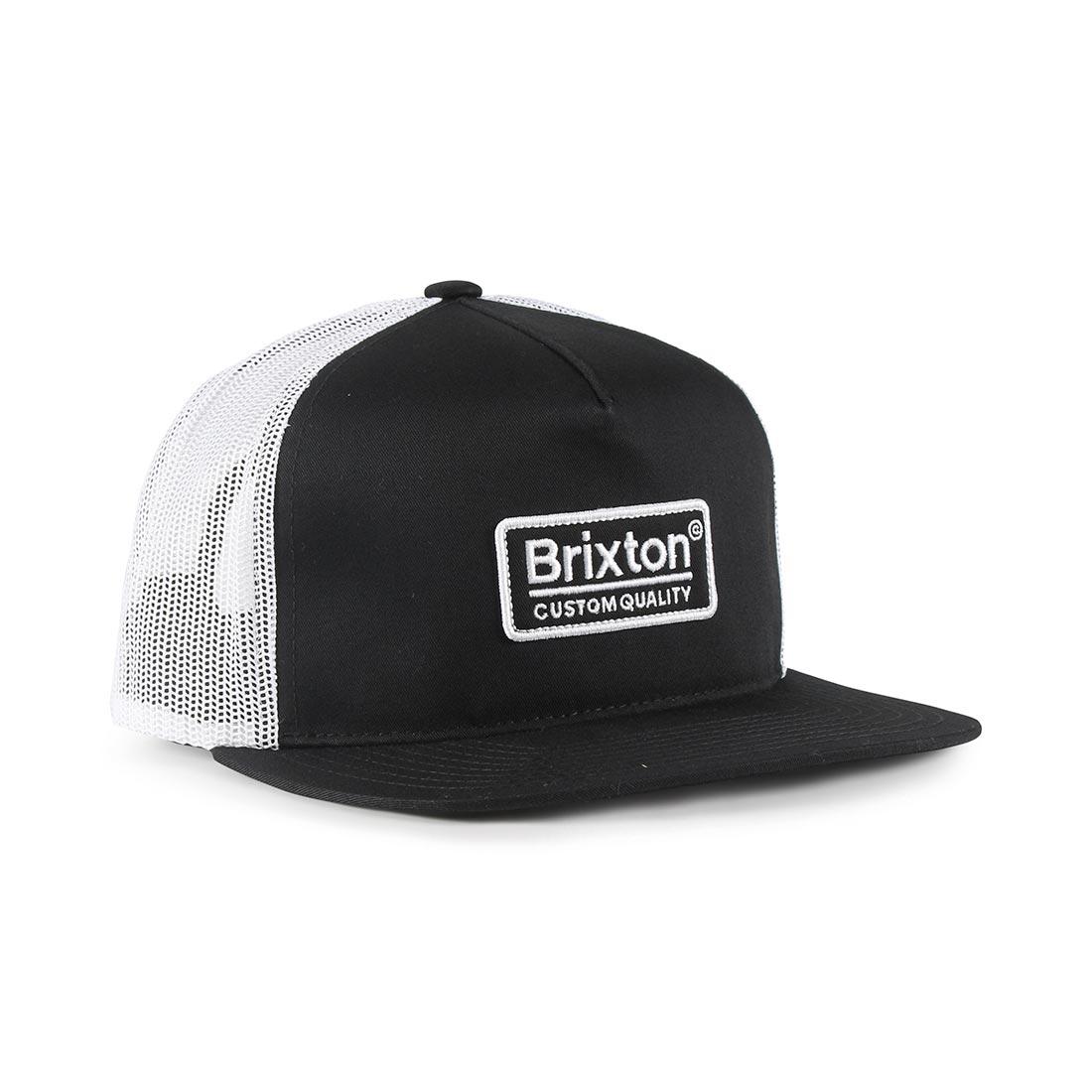 ... Brixton-Palmer-Mesh-Back-Cap-Black-White- ... 3c81ee8c0168
