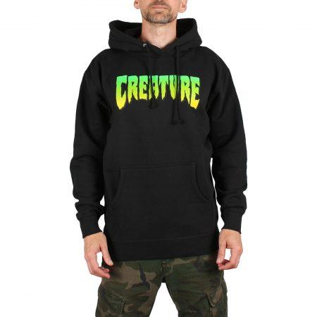 Creature Logo Pullover Hoodie - Black