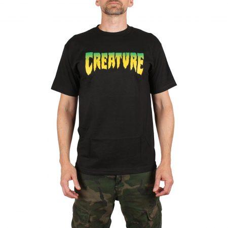 Creature Logo T-Shirt - Black