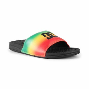 DC Bolsa SP Slider Sandals - Rasta