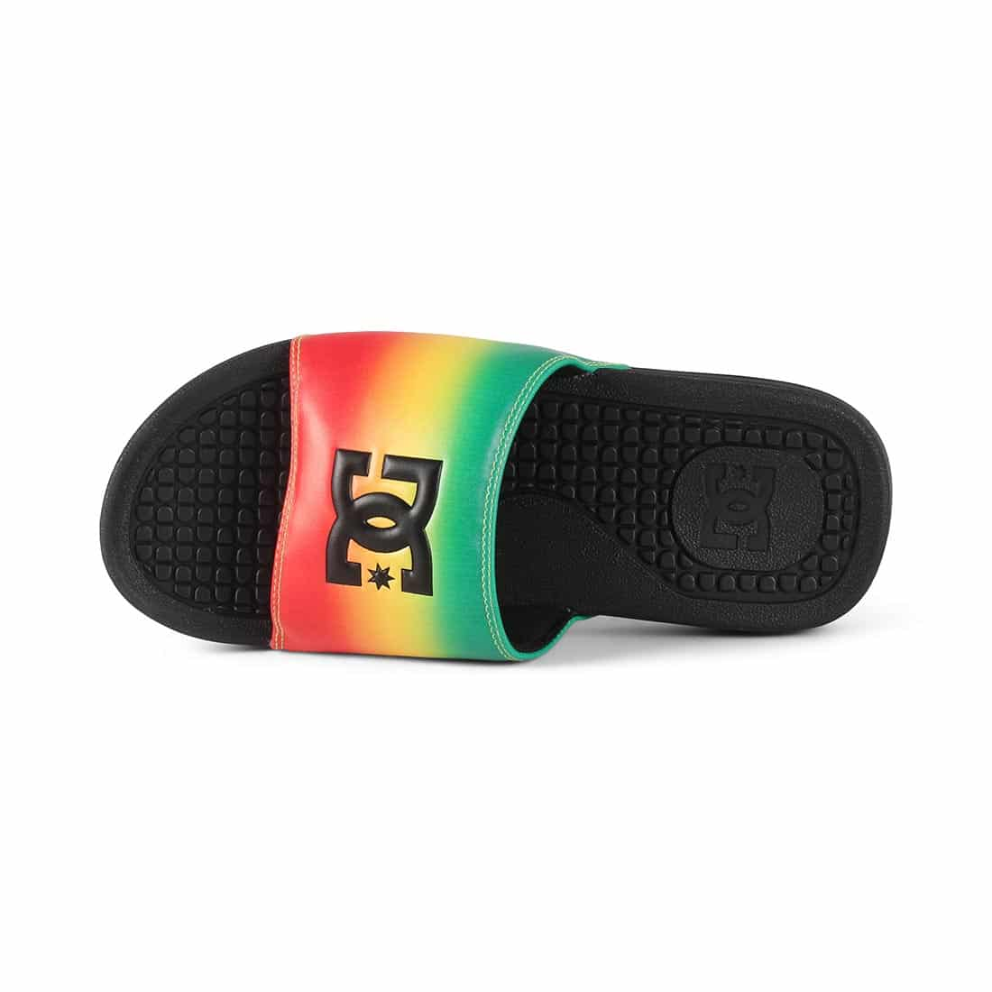 DC Bolsa SP Slider Sandals - Rasta