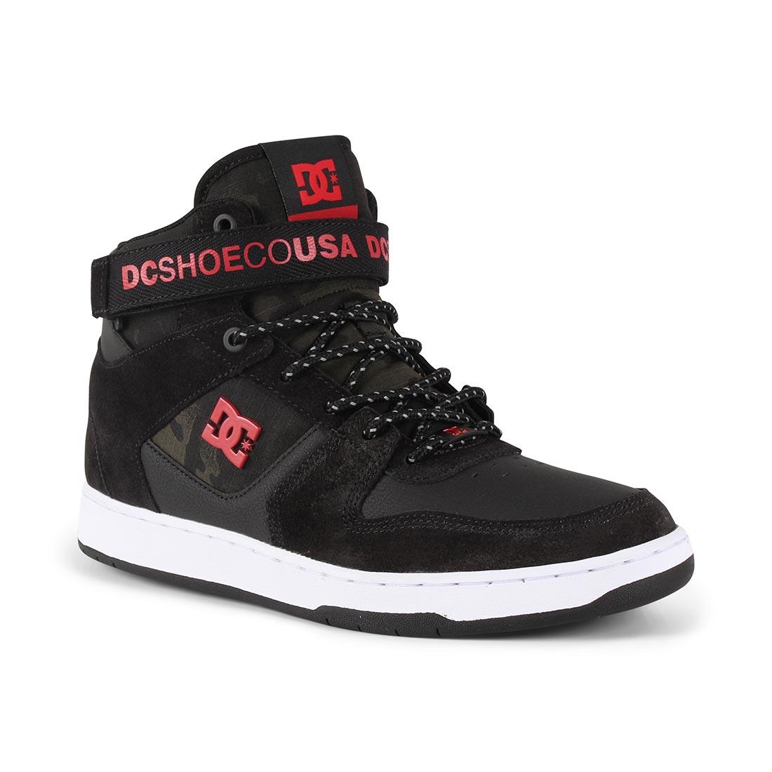 DC Pensford SE Shoes – Black / White / Red