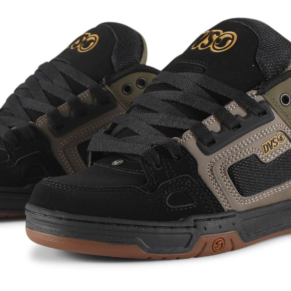 DVS-Comanche-Shoes-Brindle-Olive-Black-Nubuck-03