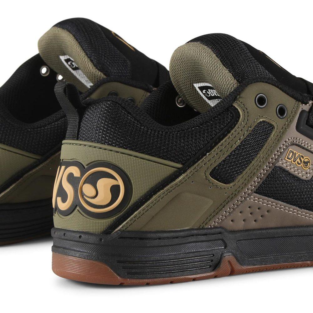 DVS-Comanche-Shoes-Brindle-Olive-Black-Nubuck-04
