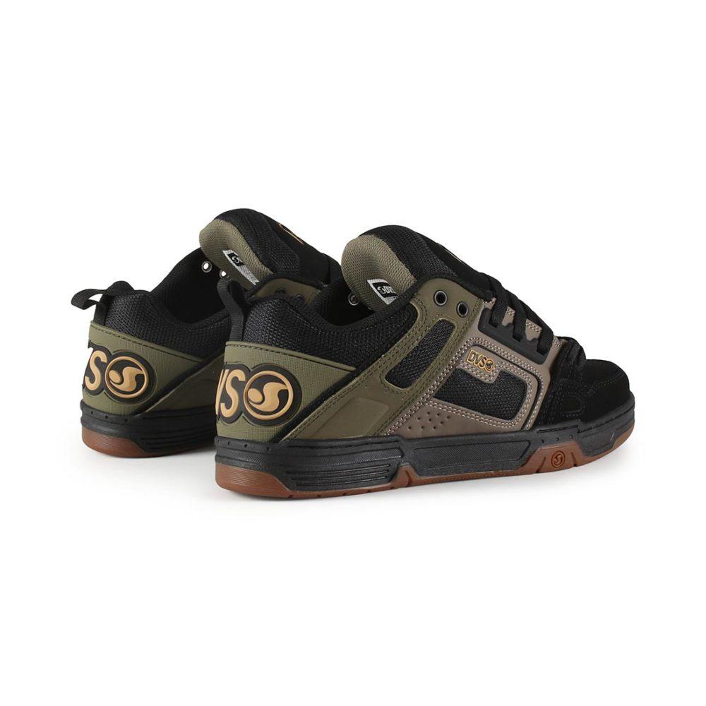 DVS-Comanche-Shoes-Brindle-Olive-Black-Nubuck-05
