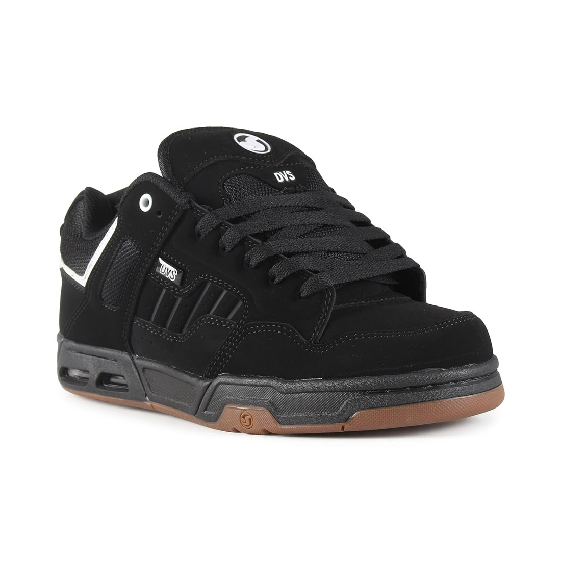 DVS Enduro Heir Shoes - Black / White Nubuck
