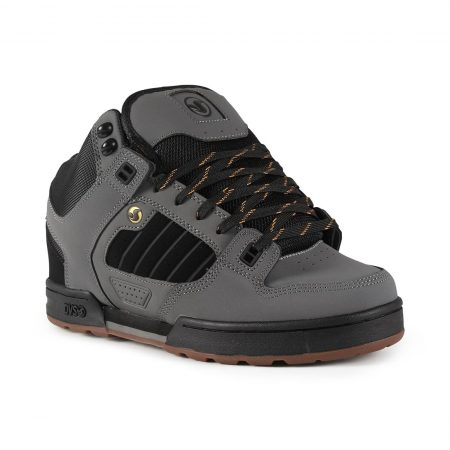 DVS Militia Boot - Charcoal / Black / Gold
