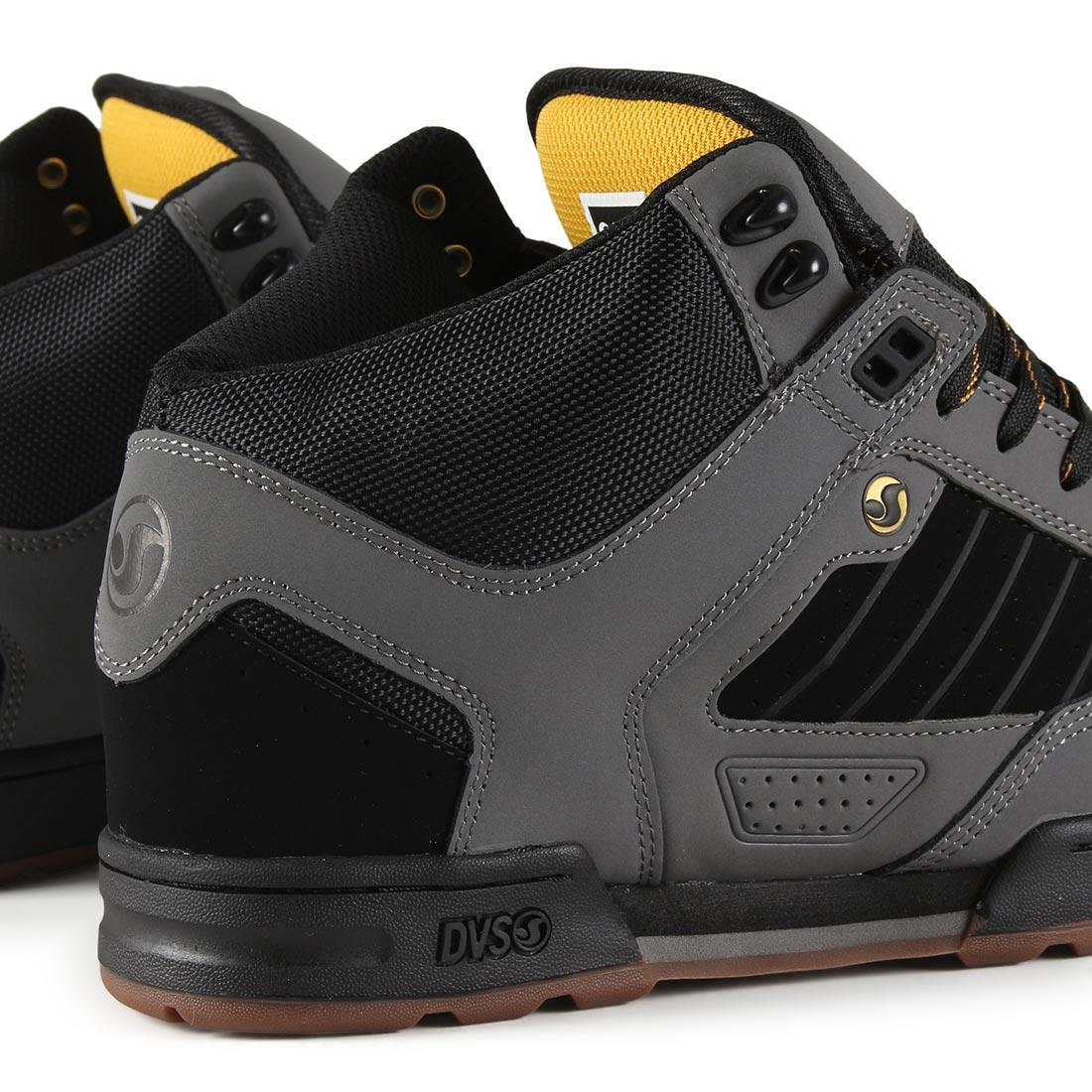DVS Militia Boot - Charcoal / Black / Gold