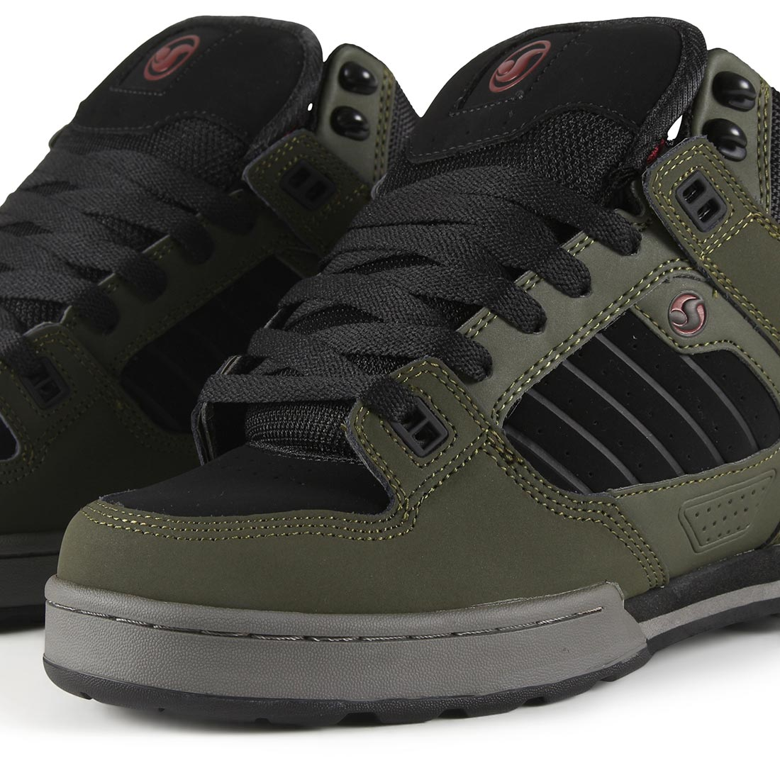 22d610e1ea5 DVS Militia Boot - Military Olive / Black