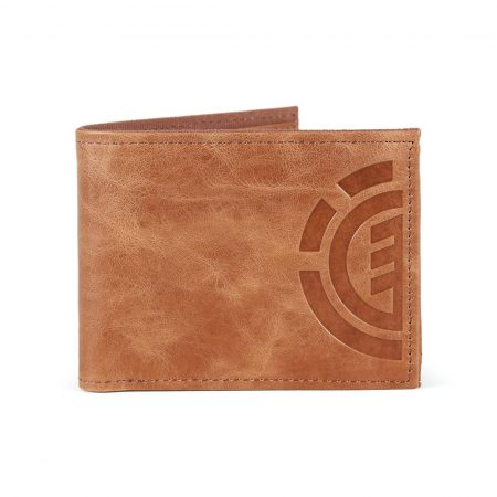 07e1bbf053 Element Daily Elite Wallet - Brown Leather