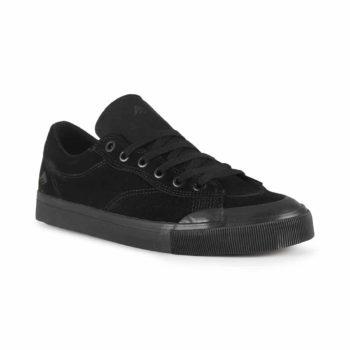 Emerica Indicator Low Shoes - Black / Black / Gum